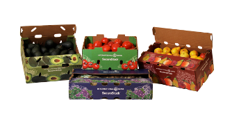 SecureStack fruit packaging