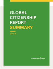 2019 Global Citizenship Report Cover